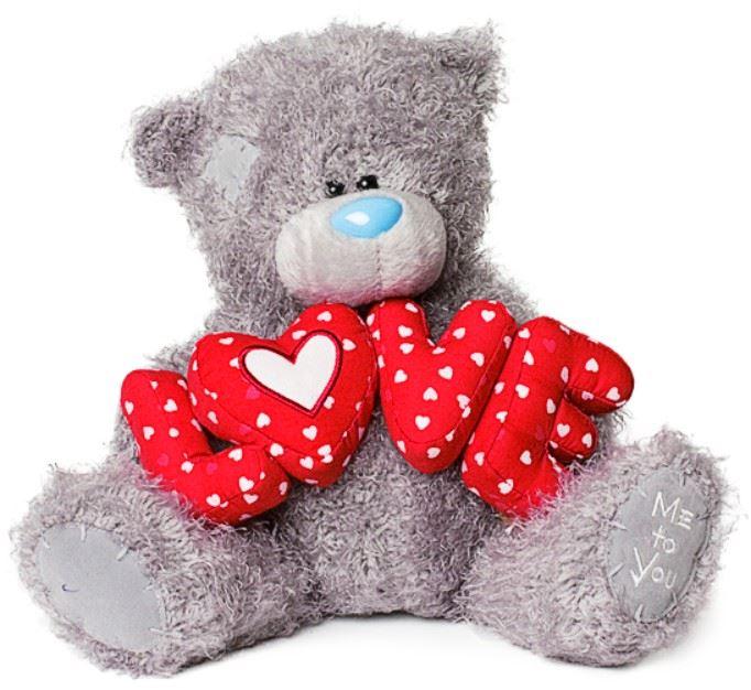 Открытка медведя о любви
