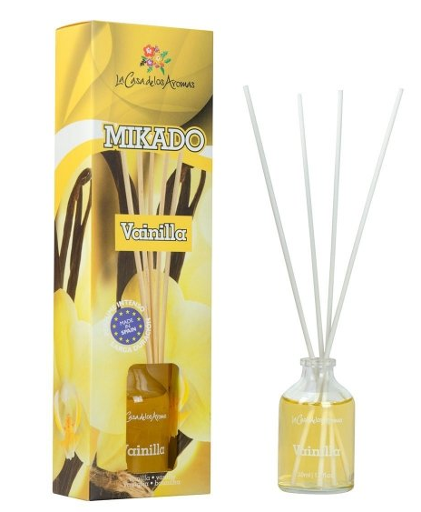 Aromatizētāju abonements Mikado Vaniļa BOTANICAL ESSENCE 50ml