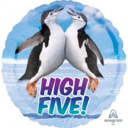 High five penguin folija balons 45 cm