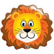 Lion Head folija balons 73 cm